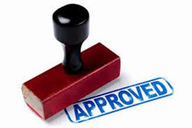 sba approval stamp